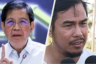 Lacson on Mancao appointment: Duterte 'can appoint an angel, a devil'