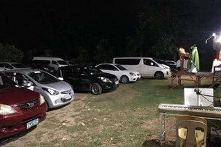 TINGNAN: 'Drive-in mass' sa Tacloban City