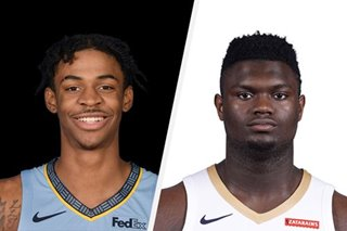 NBA: Ja Morant, Zion Williamson banner All-Rookie team