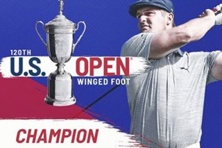 Golf: DeChambeau wins US Open to capture first major victory