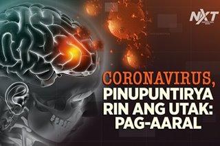 Coronavirus, pinupuntirya rin ang utak: pag-aaral