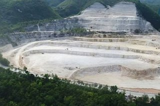 Cebu residents decry environmental damage caused by dolomite mining