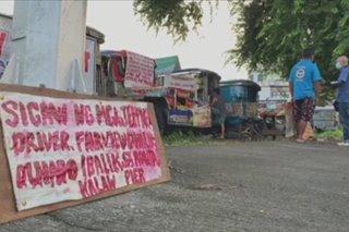 'Di bale nang walang ayuda': Ilang tsuper sa QC nanawagan ng balik-pasada
