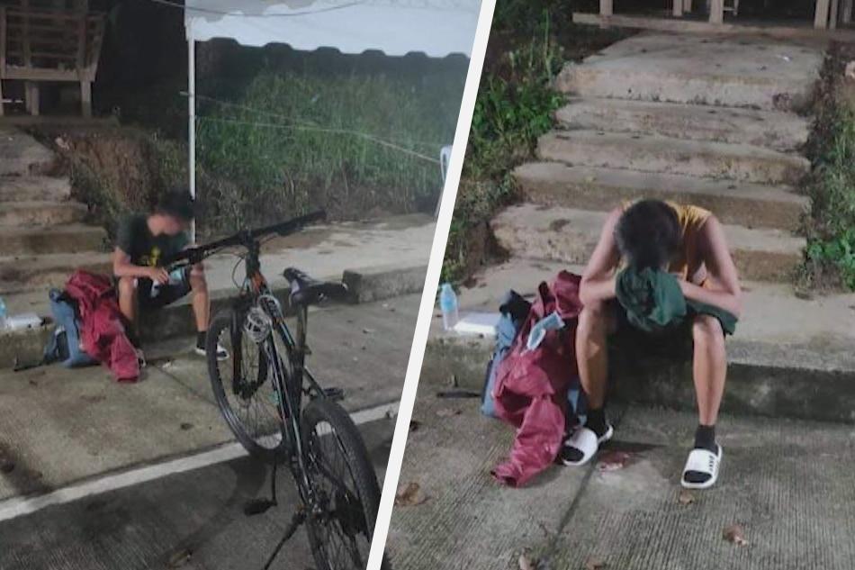 Lalaking nawalan ng trabaho sa Maynila, 10 araw nag-bike pauwing E. Samar