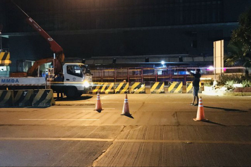 U-turn slot sa EDSA-North Ave isinara