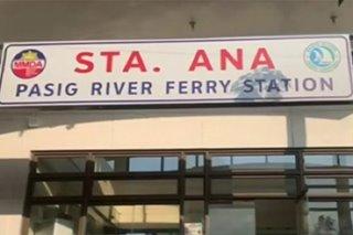 2 istasyon ng Pasig Ferry binuksan, libreng sakay sa frontliners nagpapatuloy
