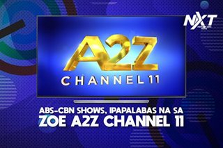ABS-CBN programs, mapapanood na sa A2Z Channel 11