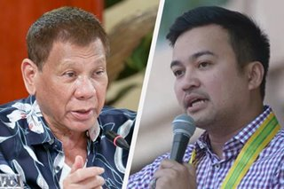 Palace: Duterte told Velasco he 'had right' to run for House Speaker