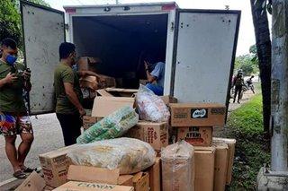 2 sasakyang may laman umanong smuggled cigarettes, huli sa Zamboanga City