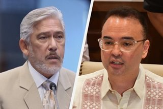 'The nerve!' Sotto blasts Cayetano for passing blame over 2021 budget row