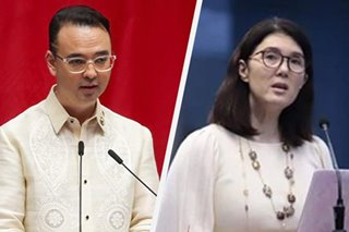 Pia Cayetano defends brother Alan, halts talk of reenacted budget in Senate hearing