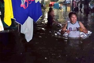 Hundreds evacuated in Lucena due to flooding