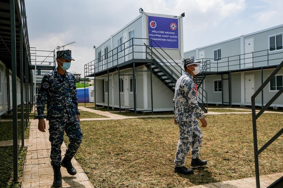PCG inaugurates COVID-19 quarantine facility