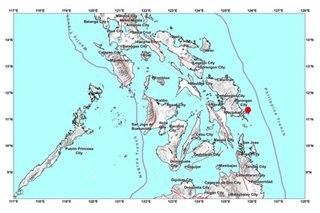 4.8-magnitude quake rattles Eastern Samar