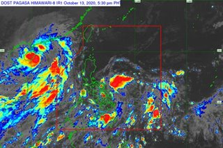 PAGASA: Storm signal 1 up in some areas, as Ofel threatens to dump heavy rains