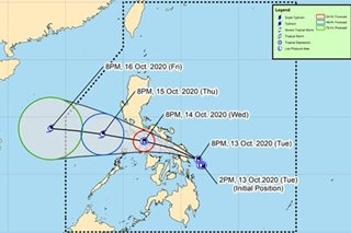 More areas under Signal No. 1 as 'Ofel' nears Samar provinces