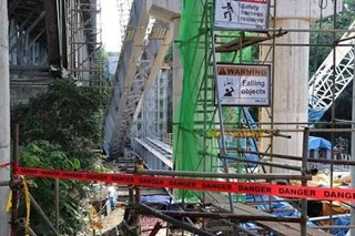 2 workers killed after steel frame collapses in Subic Freeport Expressway