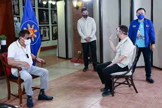 'All is well': Duterte accepts Cayetano apology - Palace