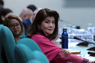 Imee Marcos sorry for calling DevCom 'cute, archaic'