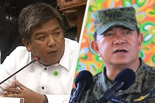 Solon hits military chief for 'dangerous' remarks linking Muslim schools with radicalization