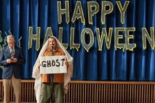 Netflix review: Adam Sandler reverts to his usual foolishness in 'Hubie Halloween'