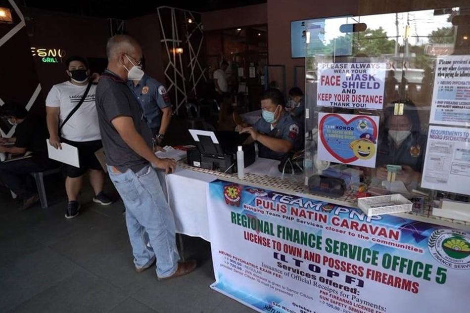 Bilang ng mga baril na paso ang lisensiya, dumami sa Bicol 1