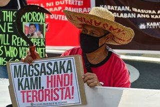 DOJ binatikos dahil sa mga 'isiningit' sa IRR ng Anti-Terror Law
