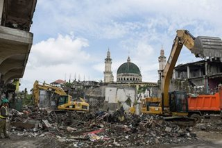 When will the government rebuild Marawi?