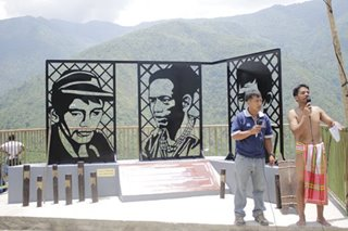 Seen as 'obstruction', DPWH orders removal of Chico Dam heroes' monument in Kalinga