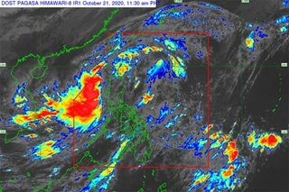 Storm warning signal No. 2 lifted as Pepito traverses West PH Sea