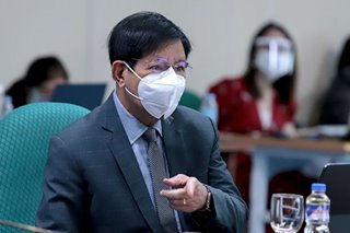 Lacson flags P1-million 'insertions' for 42 congressional districts in NEP