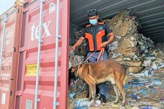 2 container ng basura mula America naharang sa Subic