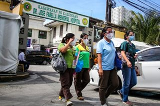 Fabella hospital stops admitting patients amid pandemic