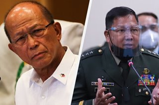 'Brouhaha na lumalaki': Defense chief to meet with Parlade, ELCAC on red-tagging