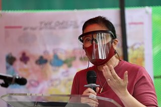 VP Robredo self-quarantines after exposure to COVID-19 patient