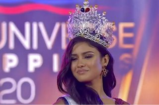 Rabiya Mateo from Iloilo City is new Miss Universe Philippines