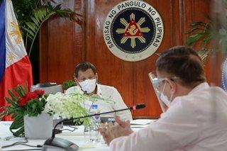Duterte to gov't agencies: 'Simplify' aid distribution or face suspension