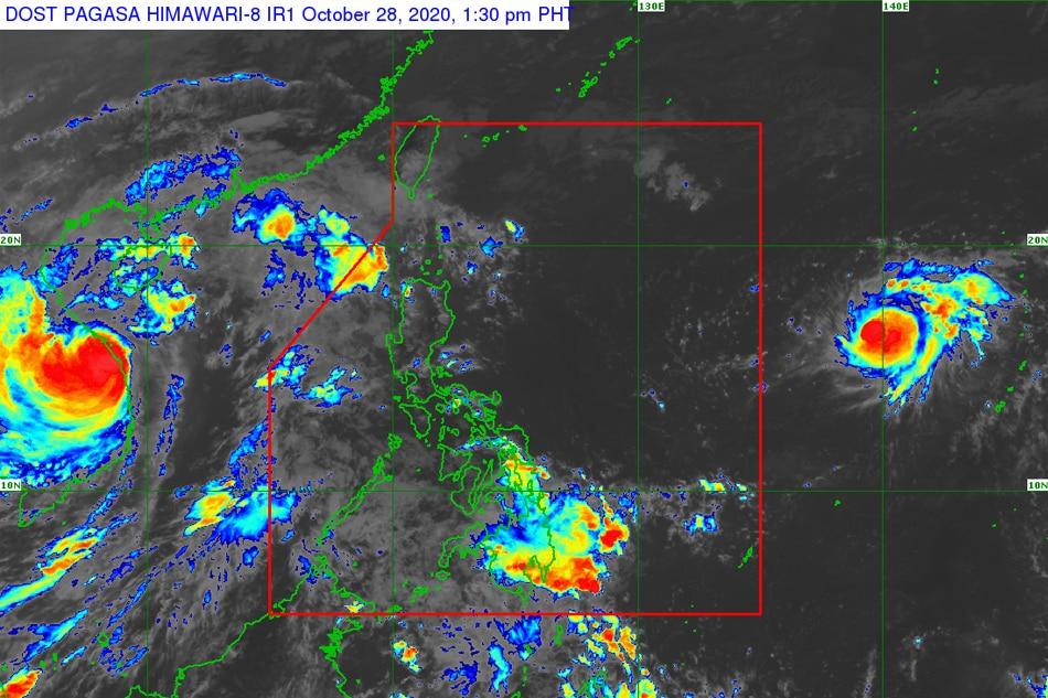 Tropical depression to intensify as it nears PAR: weather bureau 1
