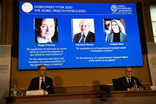 Long deserved: Pinoy physicists cheer Nobel Prize for black hole scientists