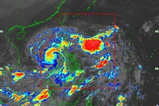 Typhoon Rolly weakens further as it exits Luzon landmass