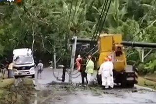 Supply ng kuryente naibalik na sa Mauban, Quezon