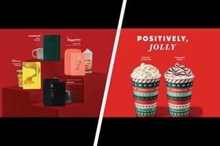 New planners, holiday drinks: Starbucks PH continues Christmas tradition amid pandemic