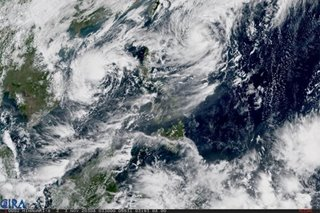 'Siony' slightly intensifies as 'Rolly' leaves PAR; may graze extreme N. Luzon