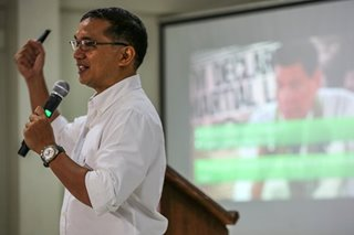 Casiño denies Red links, says allegations unsubstantiated