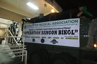 PH Medical Association, volunteers magsasagawa ng medical mission, relief ops sa Bicol region