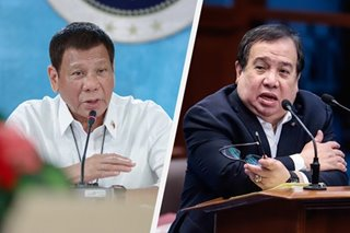 Duterte's 'mukhang pera' comment vs Red Cross 'not really presidential': Gordon