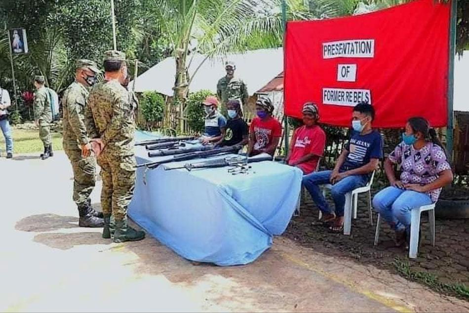 6 NPA rebels surrender in Maguindanao: military 1
