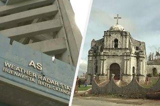 PAGASA radar, makasaysayang simbahan sa Catanduanes napinsala ng Rolly