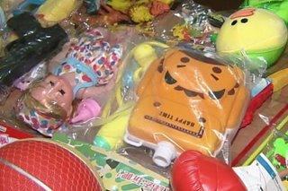 EcoWaste: 44 toy samples may taglay na kemikal, parte na delikado