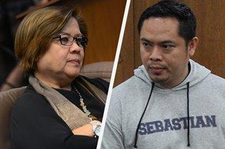 Prosecution uses dead convict Jaybee Sebastian's affidavits to drag De Lima in drug case